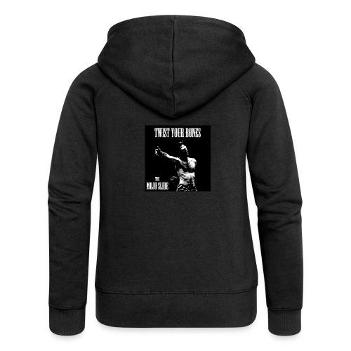 Twist Your Bones - Design 1 - Women's Premium Hooded Jacket