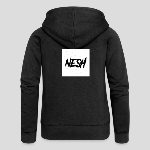 Nesh Logo - Frauen Premium Kapuzenjacke