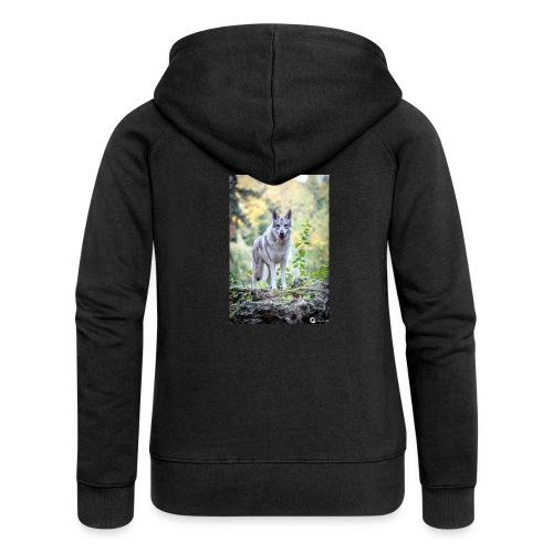 La Tanière des Chiens-Loups - Veste à capuche Premium Femme