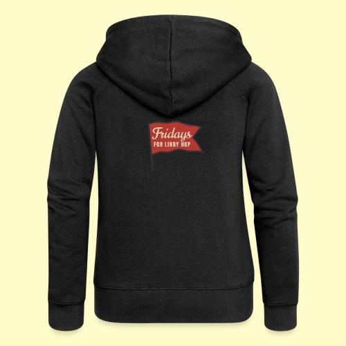 Lindy Hop Swing Tanz Geschenk T-Shirt - Frauen Premium Kapuzenjacke