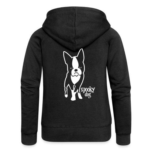 spooky dog stehend - Women's Premium Hooded Jacket