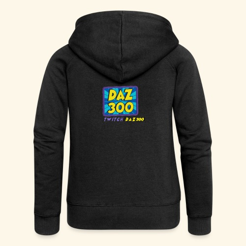 daz logo 2 0 - Women's Premium Hooded Jacket