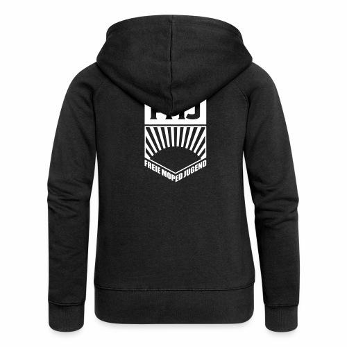 Freie Moped Jugend FDJ Parodie (1c) - Women's Premium Hooded Jacket