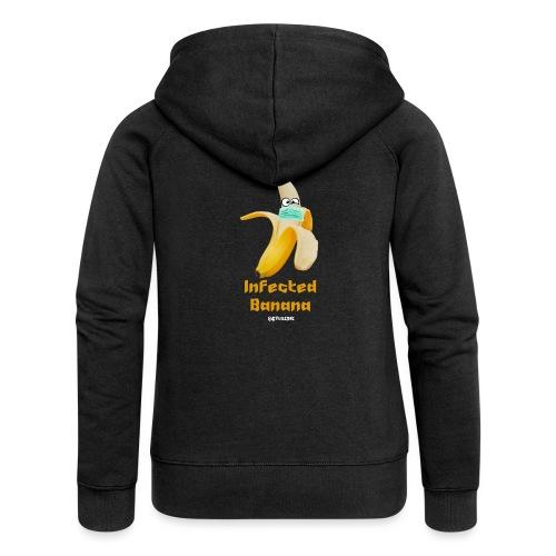 Die Zock Stube - Infected Banana - Frauen Premium Kapuzenjacke
