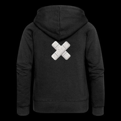 Xanax X Logo - Frauen Premium Kapuzenjacke