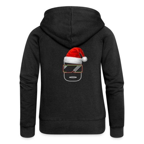 Die Zock Stube - Robot-Head Christmas - Frauen Premium Kapuzenjacke