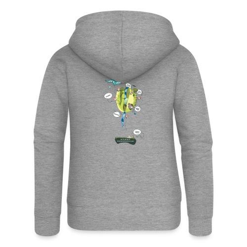 T-shirt Maison de L'aventure - Veste à capuche Premium Femme