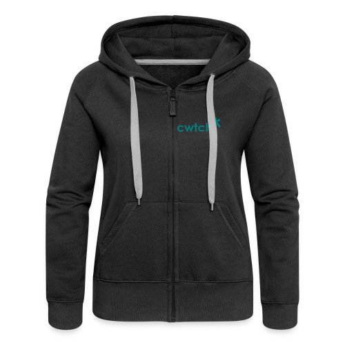 cwtch hug from a star - Women's Premium Hooded Jacket