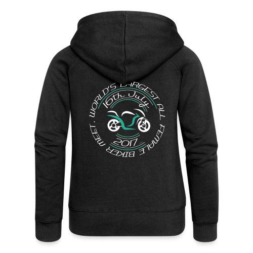 blacktshirt logo png - Women's Premium Hooded Jacket