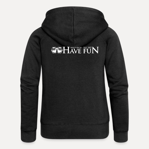 Logo Have Fun Malfurion - Frauen Premium Kapuzenjacke