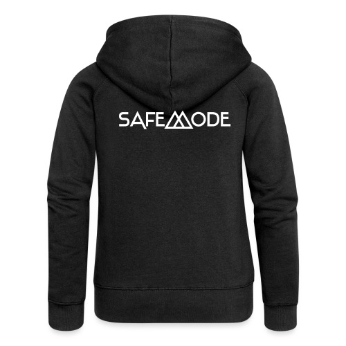 Safemode - Logo white - Women's Premium Hooded Jacket