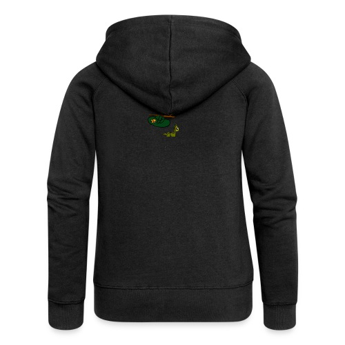 Sloth + Llama - Women's Premium Hooded Jacket