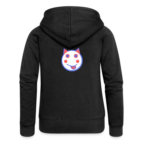Red White And Blue - Alf Da Cat - Women's Premium Hooded Jacket