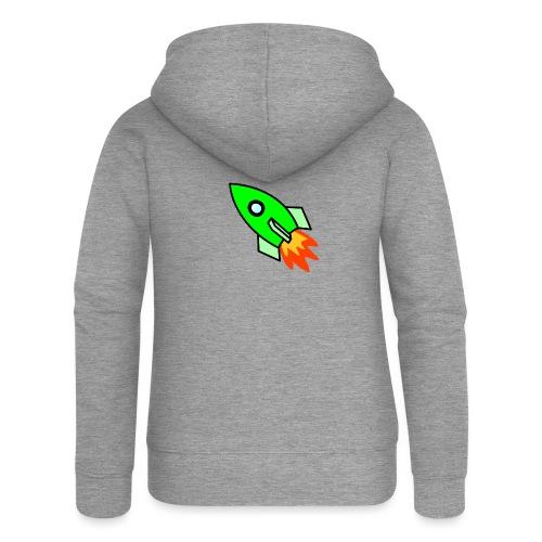 neon green - Women's Premium Hooded Jacket