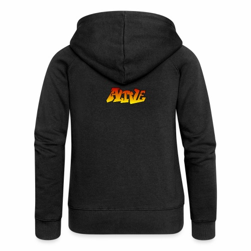 ALIVE CGI - Women's Premium Hooded Jacket