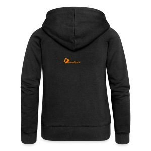 Logo DomesSport Orange noBg - Frauen Premium Kapuzenjacke