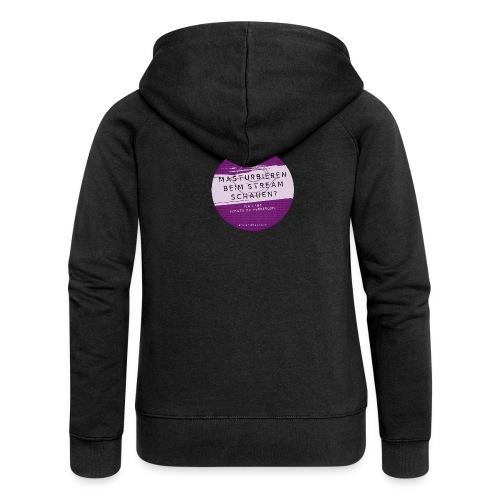 #naunddasbuch Stream - Frauen Premium Kapuzenjacke