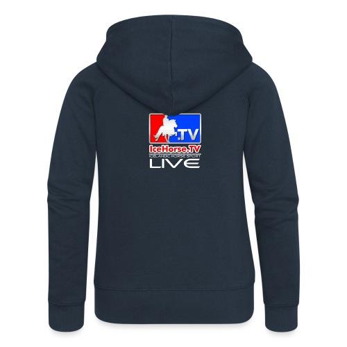 IceHorse logo - Women's Premium Hooded Jacket
