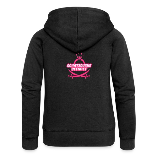 Schatzsuche beendet - JGA T-Shirt - JGA Shirt - Frauen Premium Kapuzenjacke
