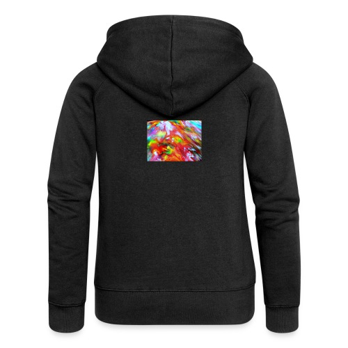 abstract 1 - Women's Premium Hooded Jacket