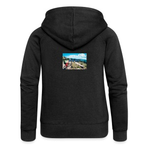 mtb hoddie - Women's Premium Hooded Jacket