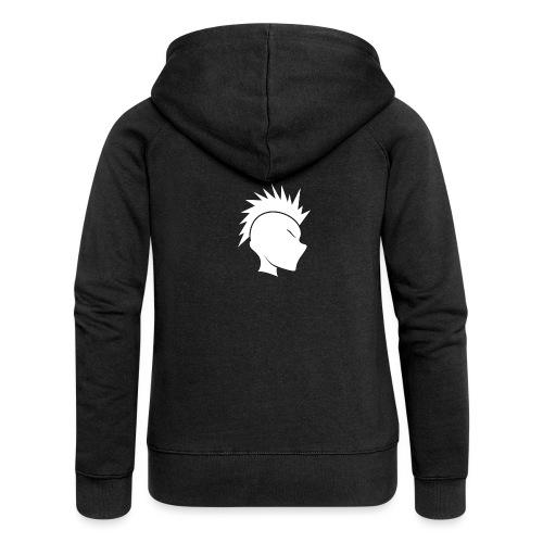 Cally Mohawk Logo - Women's Premium Hooded Jacket