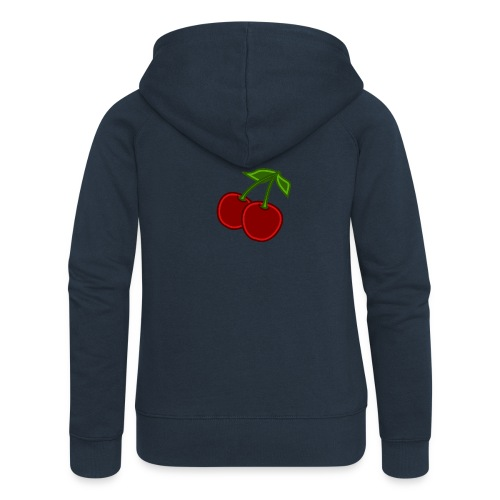 cherry - Rozpinana bluza damska z kapturem Premium