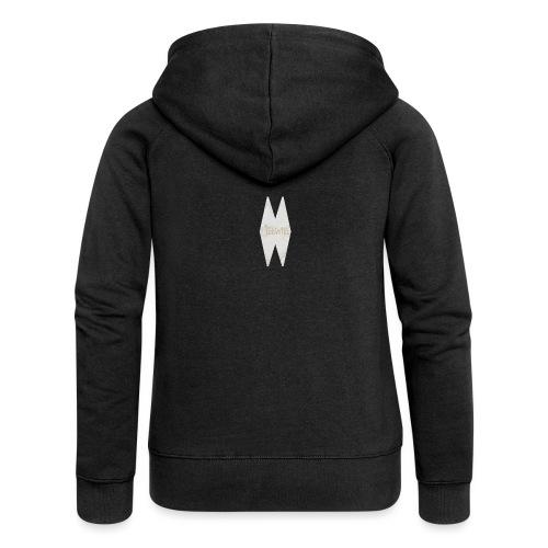 MELWILL white - Women's Premium Hooded Jacket