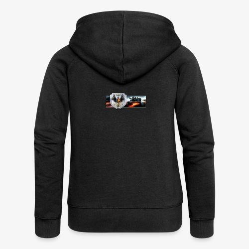 outkastbanner png - Women's Premium Hooded Jacket