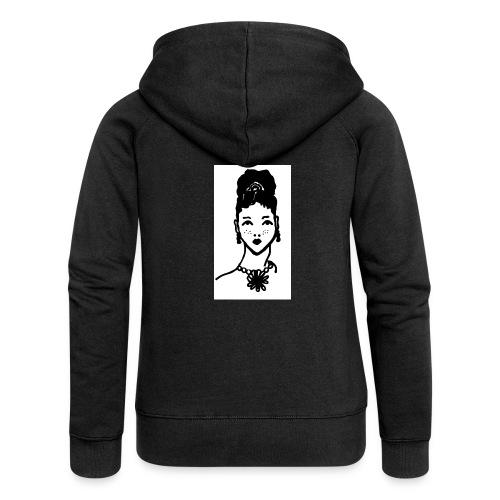Zahara2 - Chaqueta con capucha premium mujer