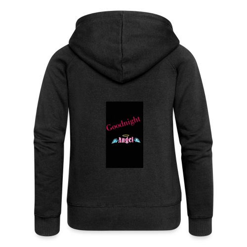goodnight Angel Snapchat - Women's Premium Hooded Jacket