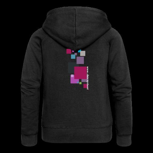 ontwerp t shirt png - Women's Premium Hooded Jacket