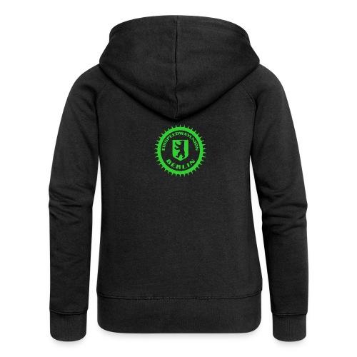 Logo klein ESU transp Green - Frauen Premium Kapuzenjacke