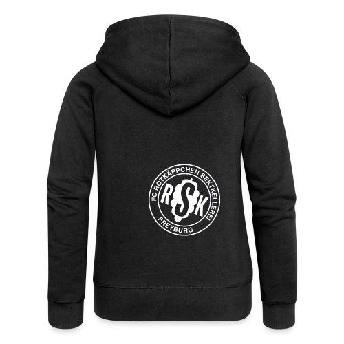 Jacke mit Logo - Frauen Premium Kapuzenjacke
