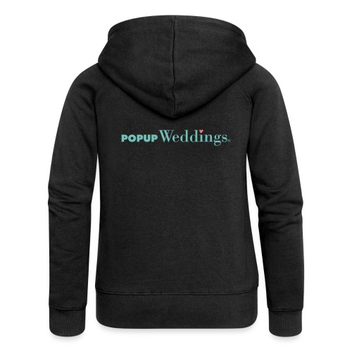 Popup Weddings - Women's Premium Hooded Jacket