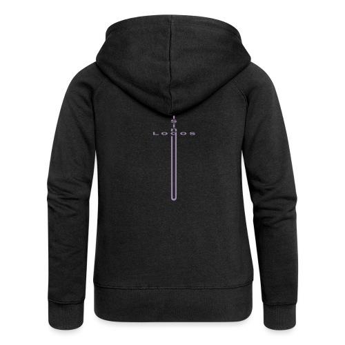 Logos Rising - Women's Premium Hooded Jacket