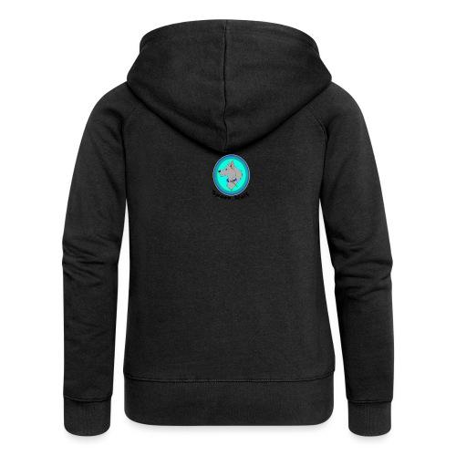 Spoon_Wolf_2-png - Women's Premium Hooded Jacket