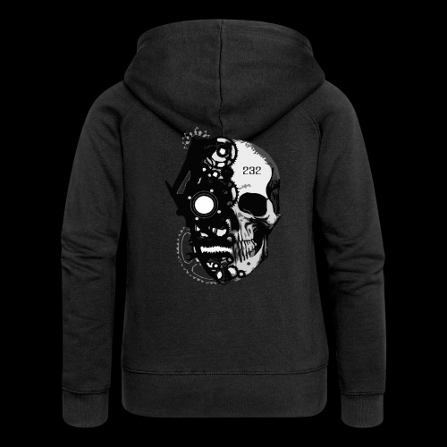 CNDMND SKULL - Women's Premium Hooded Jacket