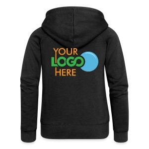Your Logo Here - Women's Premium Hooded Jacket