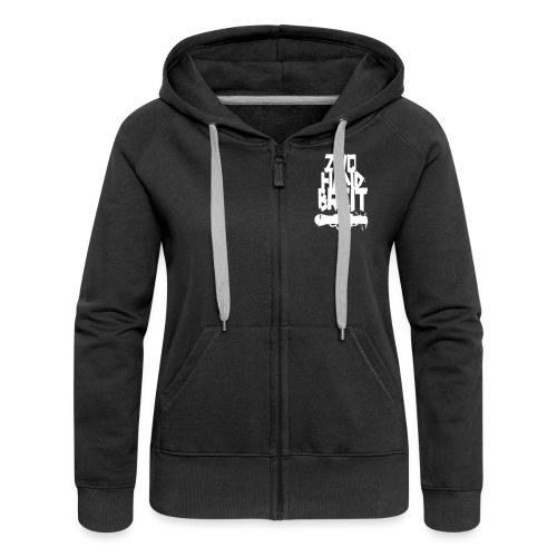 Shirt Design 2013 - Frauen Premium Kapuzenjacke