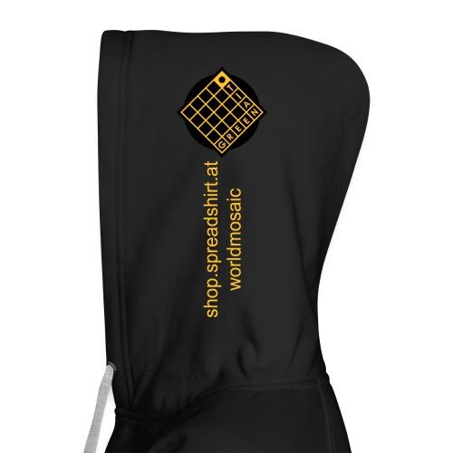 TIAN GREEN Welt Mosaik Shirt - Logo 2020 - Frauen Premium Kapuzenjacke