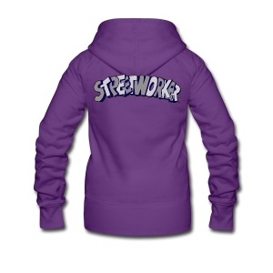 Streetworker Basic One - Frauen Premium Kapuzenjacke
