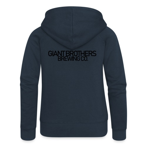 Giant Brothers Brewing co SVART - Premium luvjacka dam