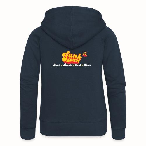 FunkDown Official Merchandise (med genrer) - Dame Premium hættejakke