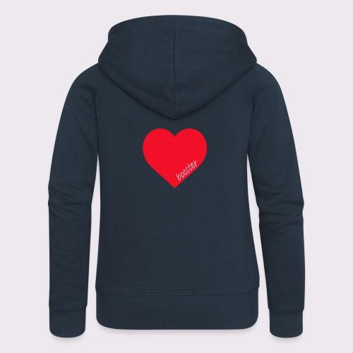 lovebooster - Women's Premium Hooded Jacket