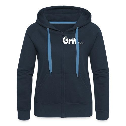 grik neu13a 5 shirtdruck smaller 2 - Frauen Premium Kapuzenjacke