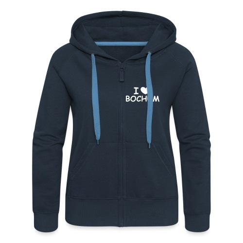 I ♥ Bochum - Frauen Premium Kapuzenjacke