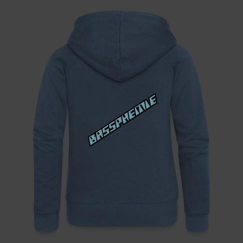 Bassphemie - Blau (Original Design) - Frauen Premium Kapuzenjacke
