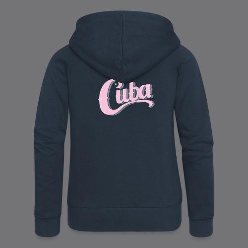 CUBA VINTAGE Tee Shirt - Women's Premium Hooded Jacket