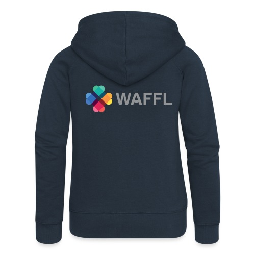 WAFFL_IMAGE_LOGO_NO_BG (3 - Women's Premium Hooded Jacket